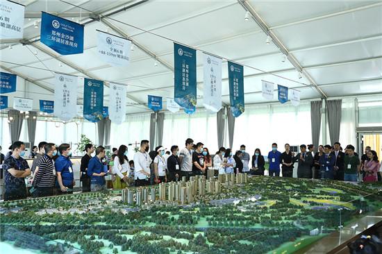 金沙湖营销中心焕新开放盛典隆重举行,五一生活艺术节同步绽放!